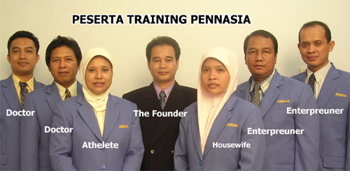 Peserta Training Pennasia 1
