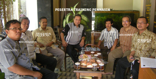 Peserta Training Pennasia 2